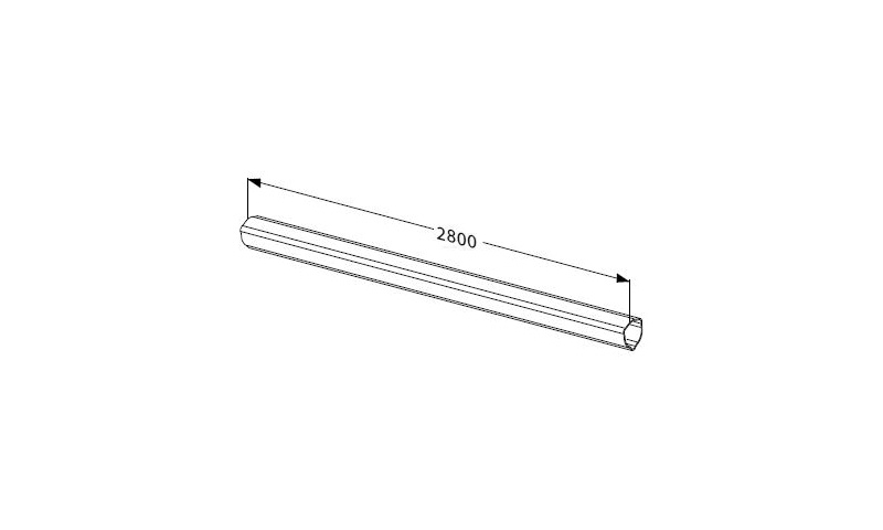 Inner Profile tube T seres T60 L:2800mm