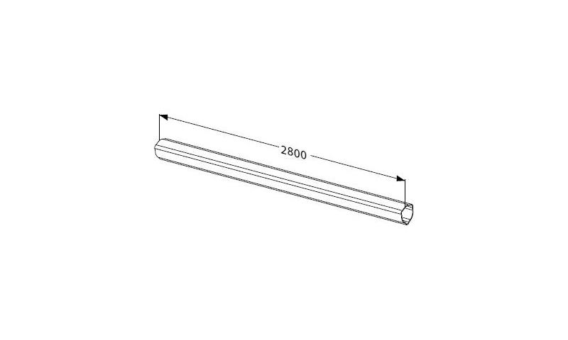 Inner Profile tube T seres T50 L:2800mm