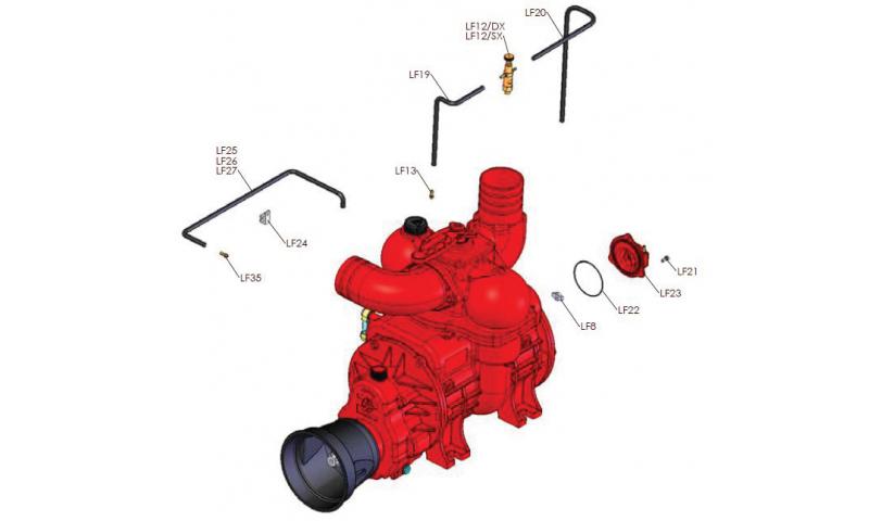 Pump Complete for MEC10000 & MEC12000