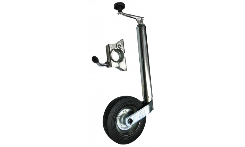 Jockey Wheel Complete with Bracket (48mm)