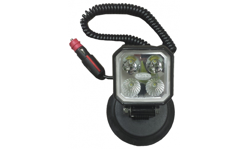LED Work Lamp (Pole Type) 90mm x 90mm (12v/24v)