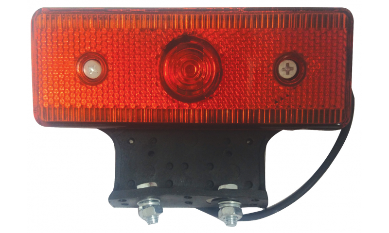 Red/Orange LED Lamp