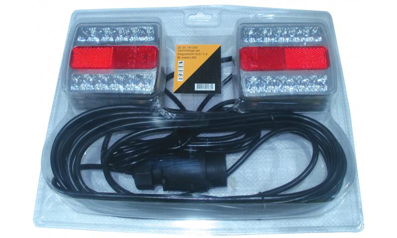 LED Magnetic Light Set 2m + 7m Cables