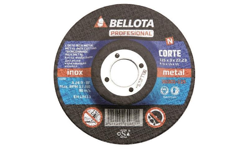 "Professional Cutting Disc 155mm (4.5"") 3mm"