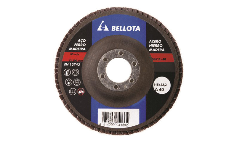 "Strip Disc 4.5"" for Iron, Steel & Wood"