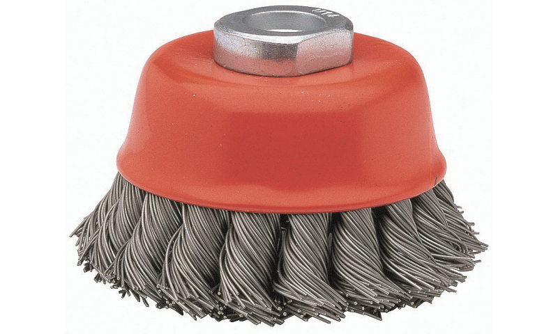 Cup Brush (Corrugated Wire) 65mm