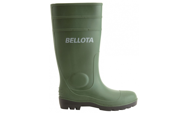 Size 8 PVC Green Wellington Boots