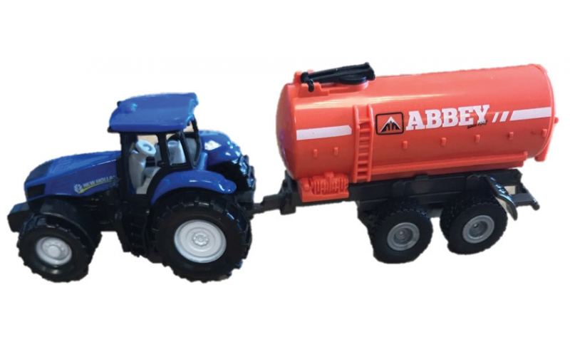 Siku Tanker & New Holland Tractor – Smaller Version