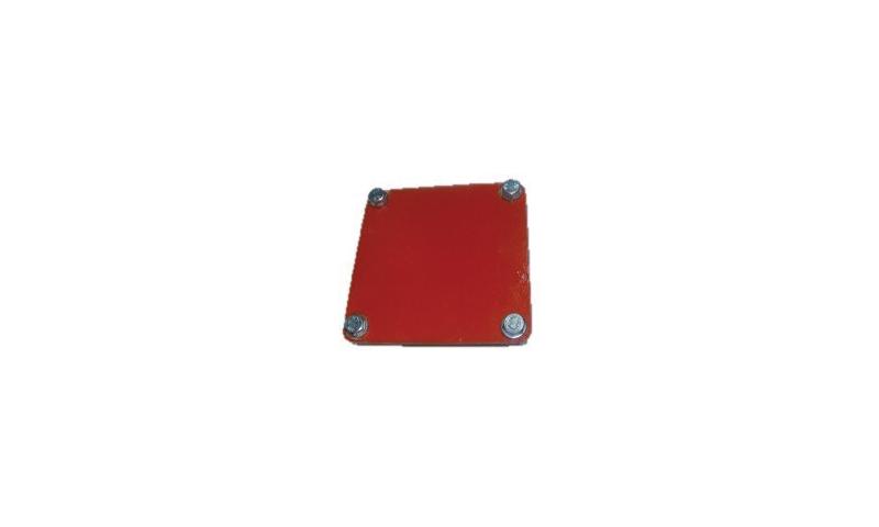 4-Hole Blank Plate