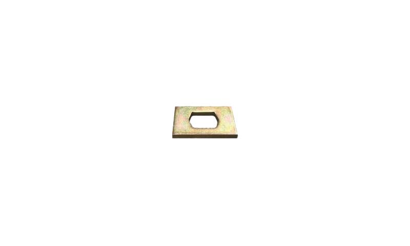 "Standard Chain Plate 4"" x 2 1/2"" x 8mm"