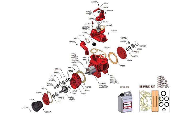 MEC Pump Bearing (6307)