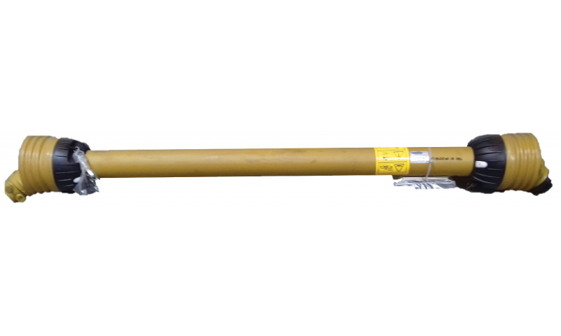 "T50 Shaft  with Shear Bolt QR/SB 6 spline 1 3/8"" 1210mm"