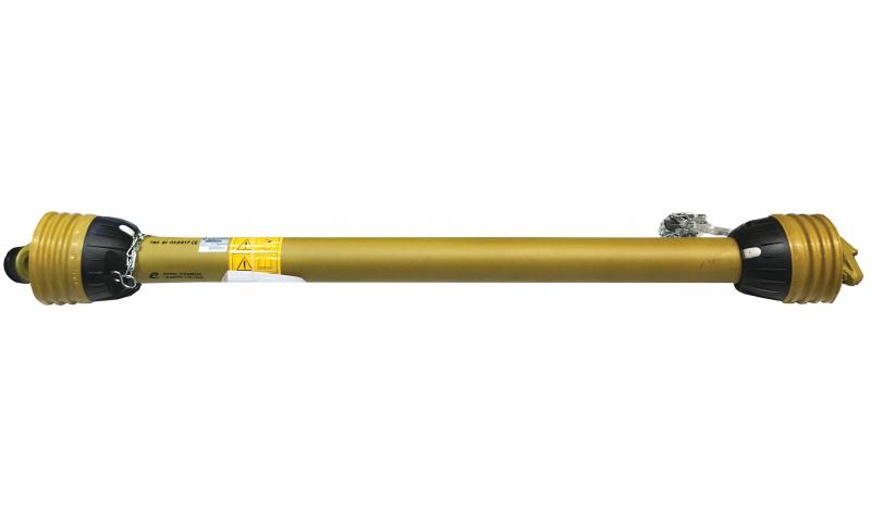 "T40 Shaft  with Overrun Clutch & Shear Bolt Clutch 6 spline 1 3/8"" 1210mm"