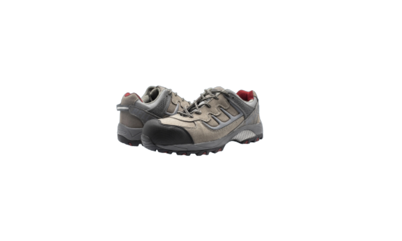 SIZE 9 TRAIL GREY SAFETY SHOES
