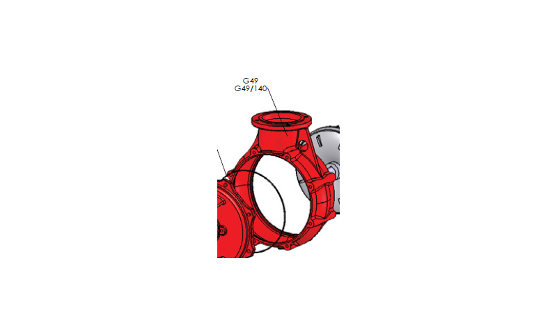 Pump Impeller Housing