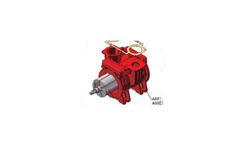 MEC 8000 Pump Rotor Housing